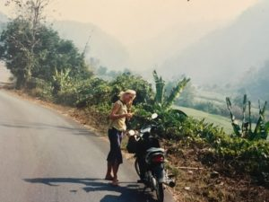 Liza in Thailand Motorbike copy
